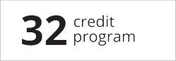 32 credit program